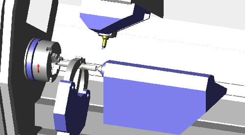 Opus module turning processing