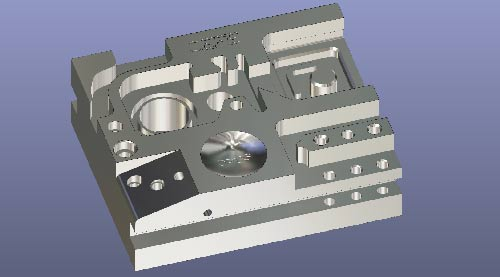 Opus module milling and drilling